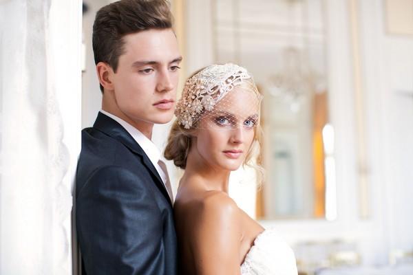 Jannie Baltzer Bridal Hair Accessories and Veils 2013 Collection