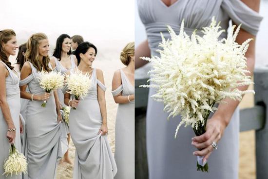 Petite Floral Love on Polka Dot Bride