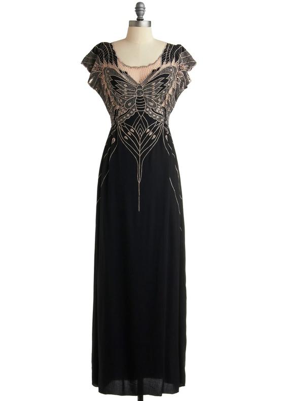Modcloth - 'Long Flutter Me By' Bridesmaids Dress