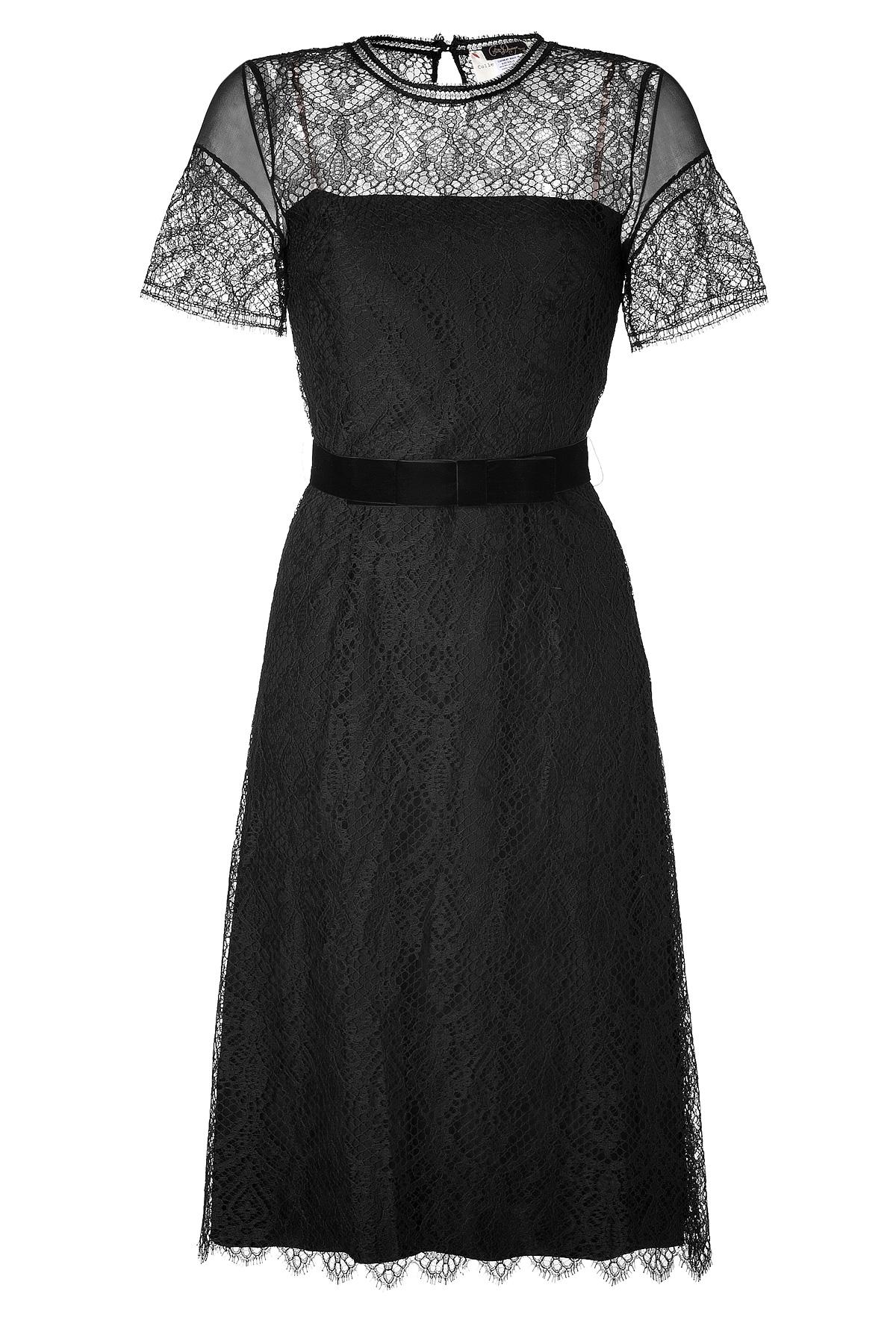 Stylebop Collette Dinnagan Fern Lace Dress