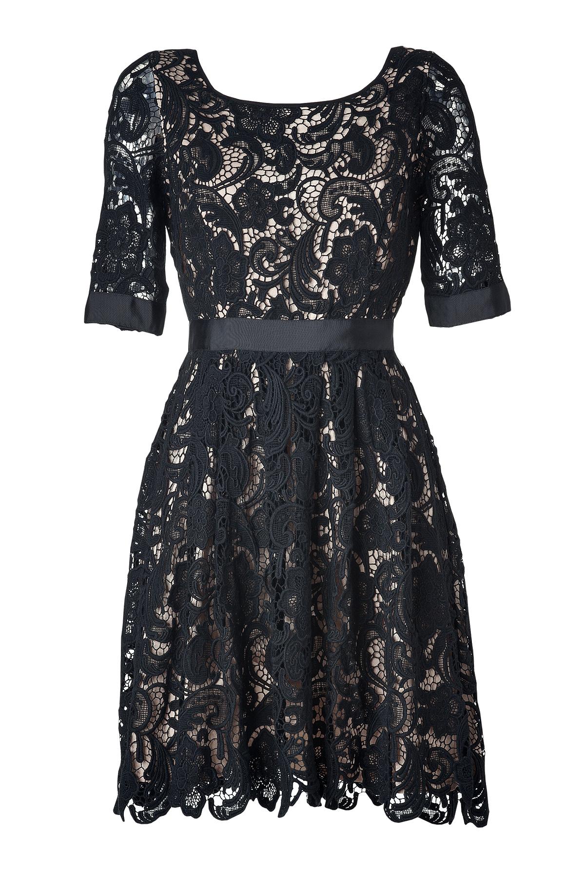Stylebop Collette Dinnagan Lace Dress