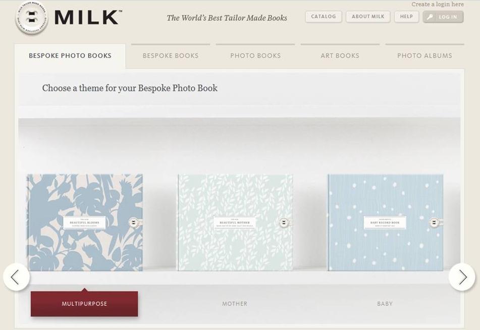 MILK Books Bespoke Photo Books
