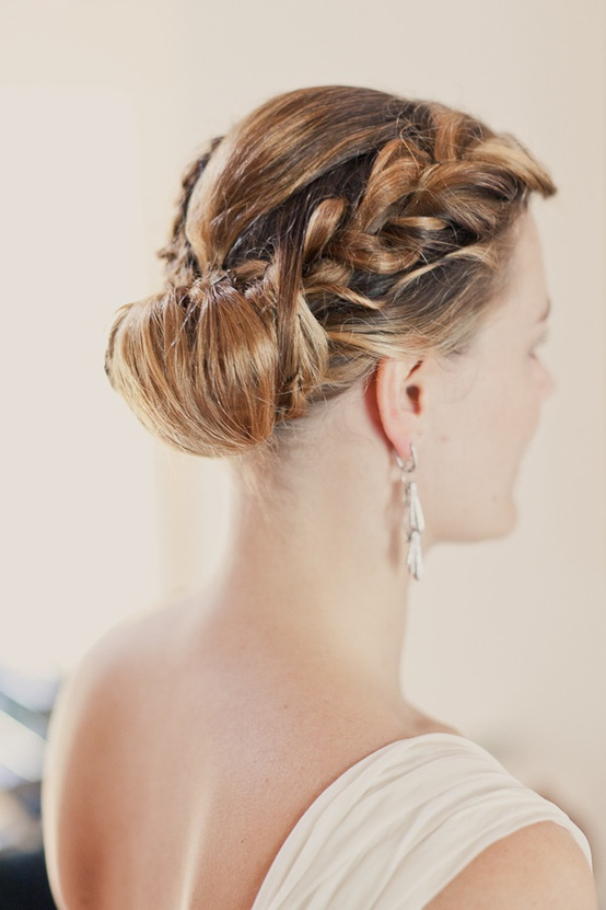 Marvelous 25 Of The Most Beautiful Braided Bridal Updos Chic Vintage Brides Short Hairstyles For Black Women Fulllsitofus