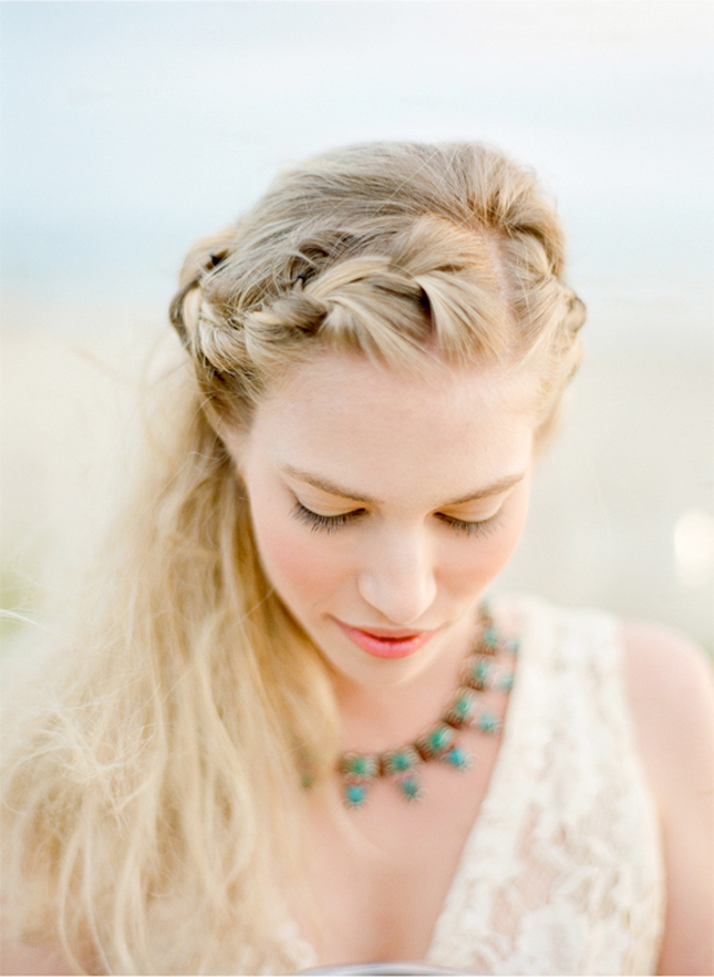 Peachy 25 Of The Most Beautiful Braided Bridal Updos Chic Vintage Brides Short Hairstyles Gunalazisus