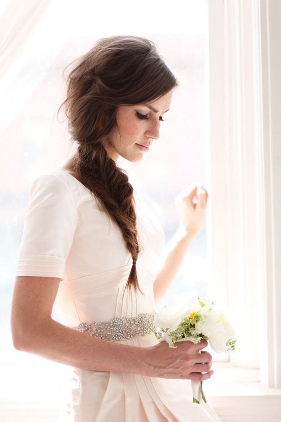 Awesome 25 Of The Most Beautiful Braided Bridal Updos Chic Vintage Brides Hairstyles For Women Draintrainus