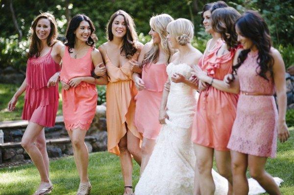 Nectarine Bridesmaids