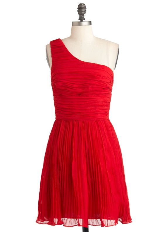 Modcloth - You're Rumba One Dress in Poppy Red