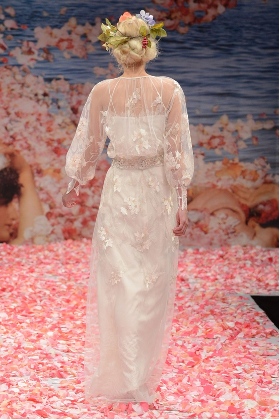 Claire Pettibone Fall 2013 Bridal Collection from New York Bridal Fashion Week
