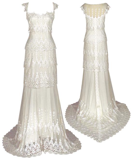 Claire Pettibone's Kristene Wedding Dress