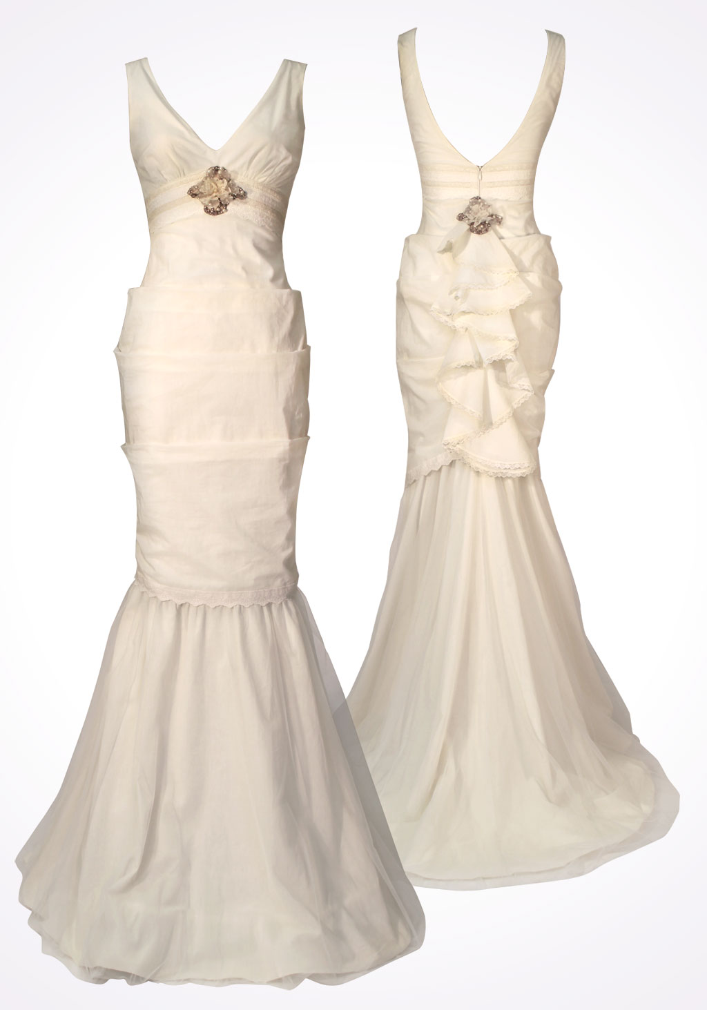 Claire Pettibone's Lydia Wedding Dress