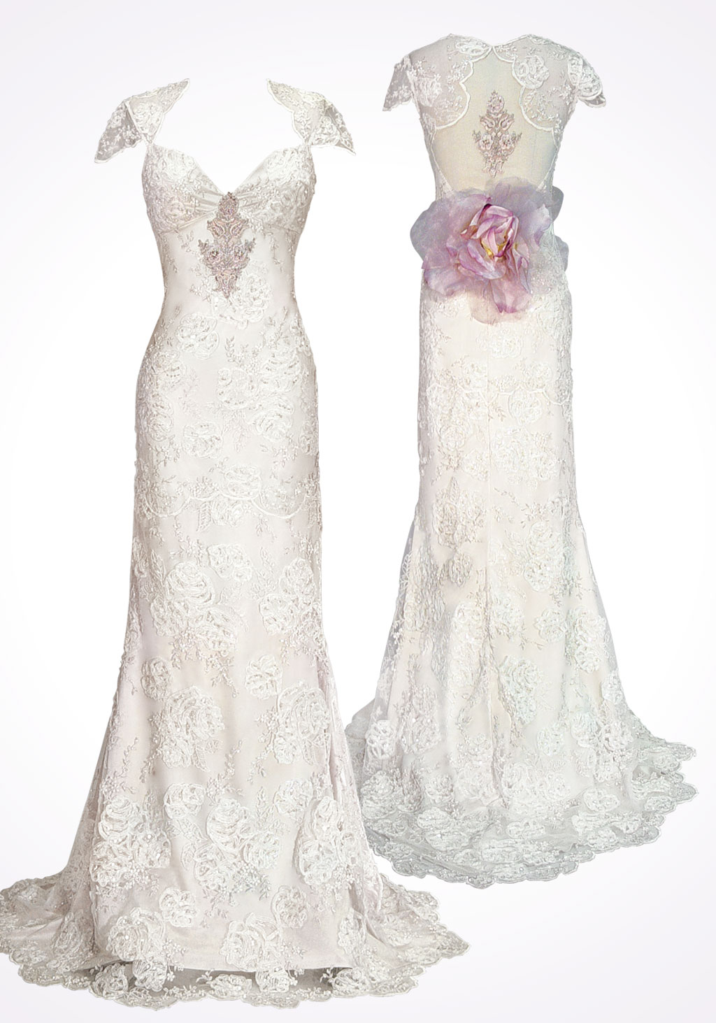 Claire Pettibone's Mystere Weddig Dress