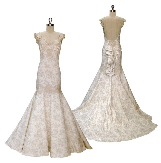 Claire Pettibone's Provence Wedding Dress
