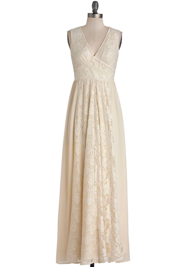Creme de la Boheme Bridesmaid Dress