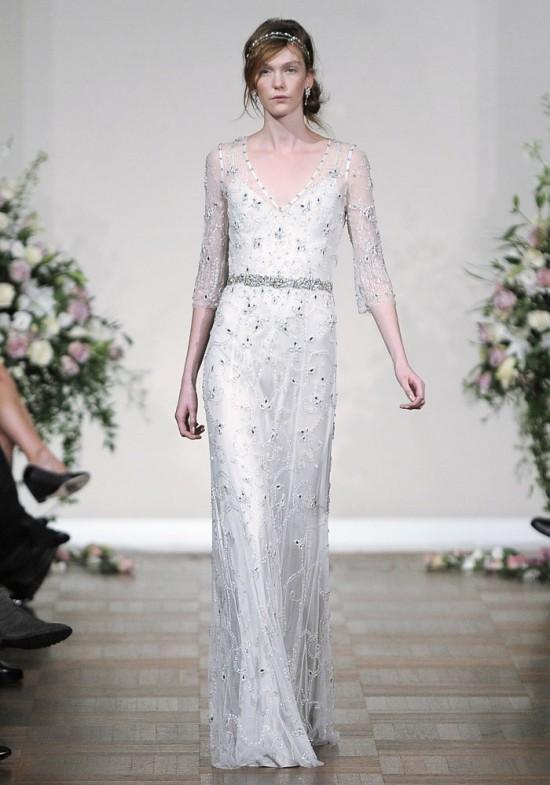 Jenny Packham's Fall 2013 Bridal Collection - Tuberose