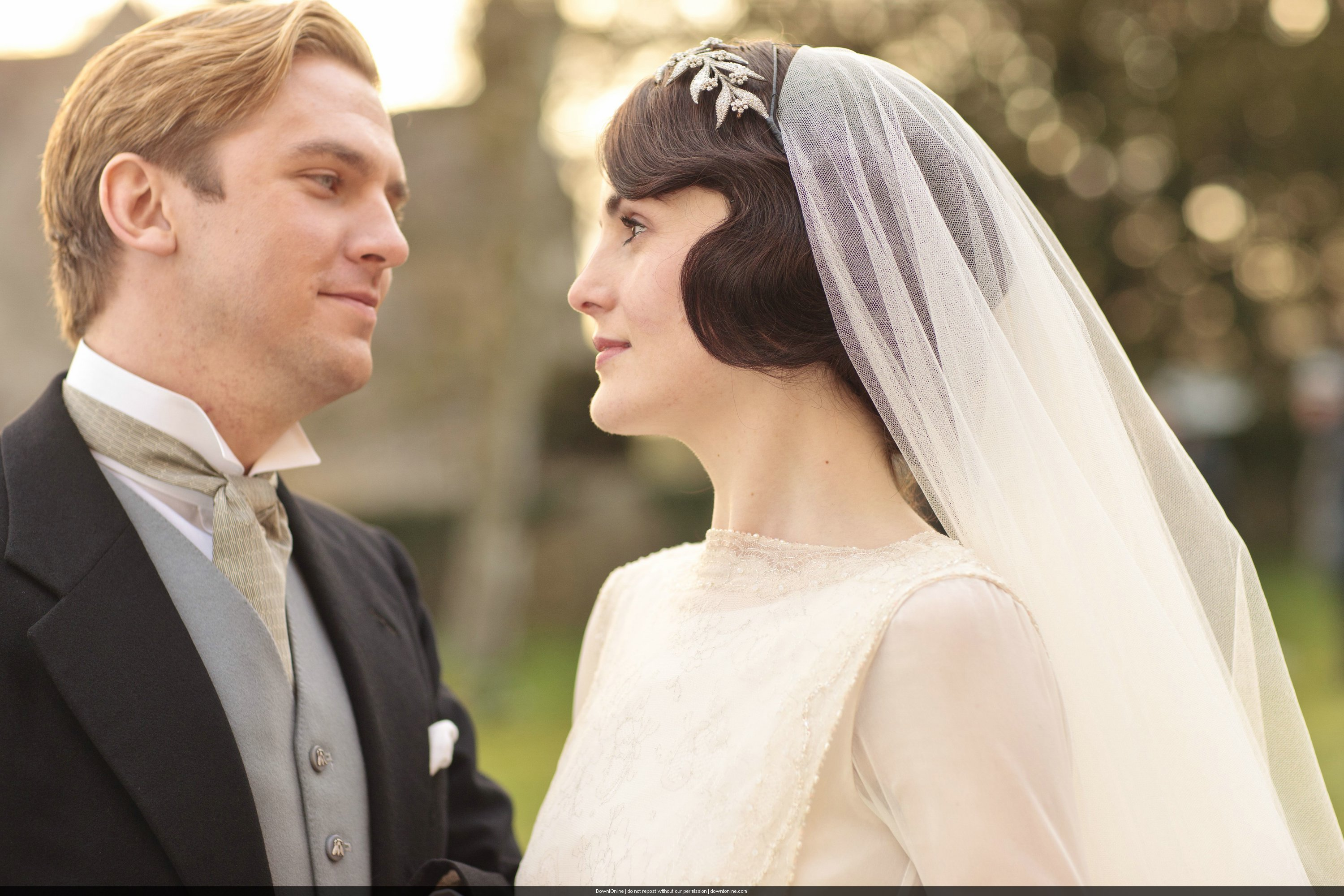 Downton Abbey Series 3 Mary & Matthew's Wedding