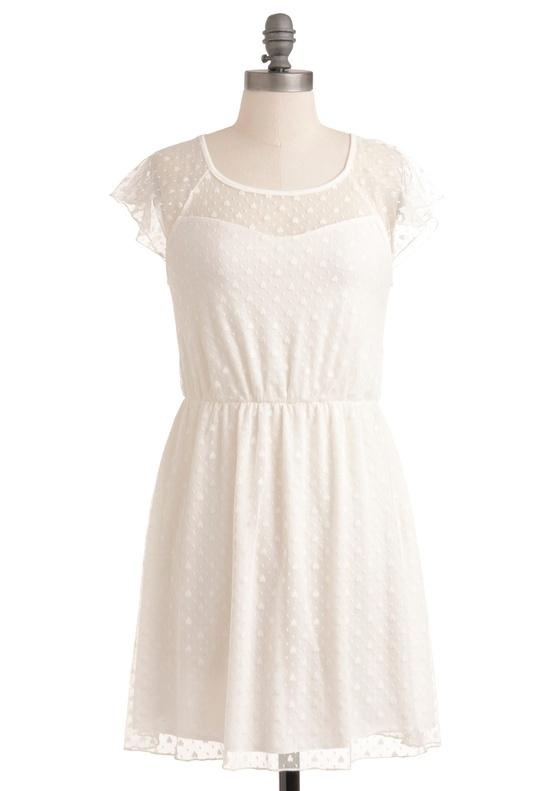 Modcloth - Lyrical Sea Lily Dress