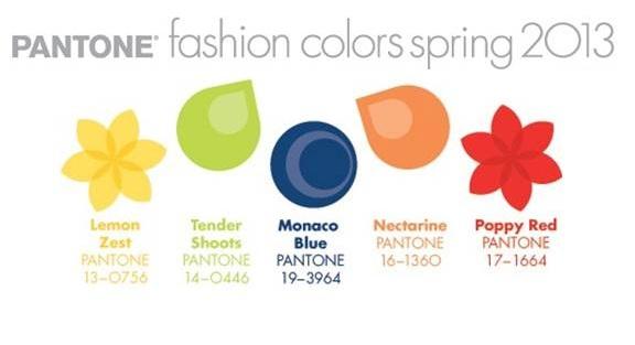 Pantone Spring 2013 - Warms