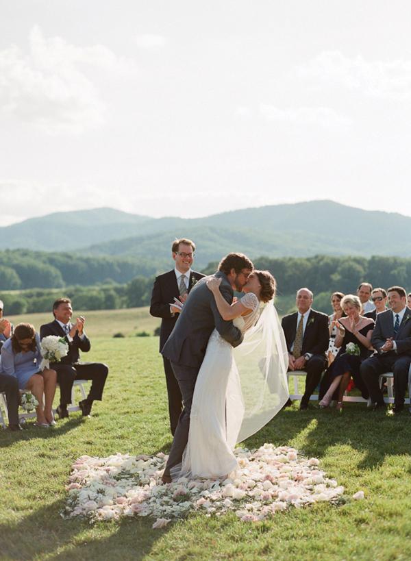 Wedding Chicks Real Vineyard Wedding
