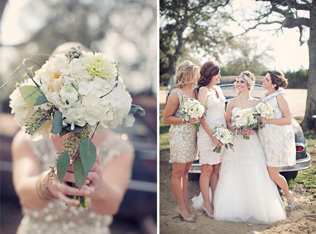 Glam Bridesmaids Dresses