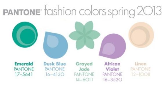 Pantone Spring 2013 Part II