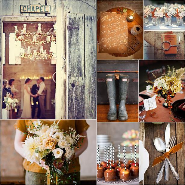 Autumn Farm Wedding Inspiration Board