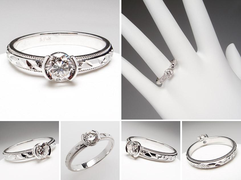 Diamond Engagement Ring wm7526