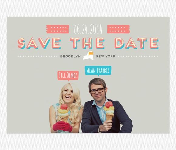 Save The Date - Gelato