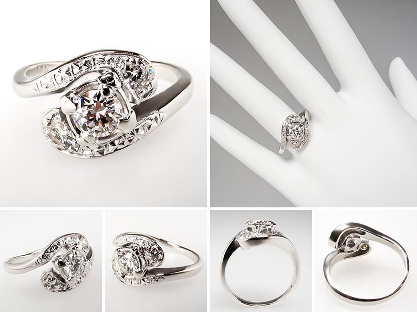 Vintage Engagement Ring br0020