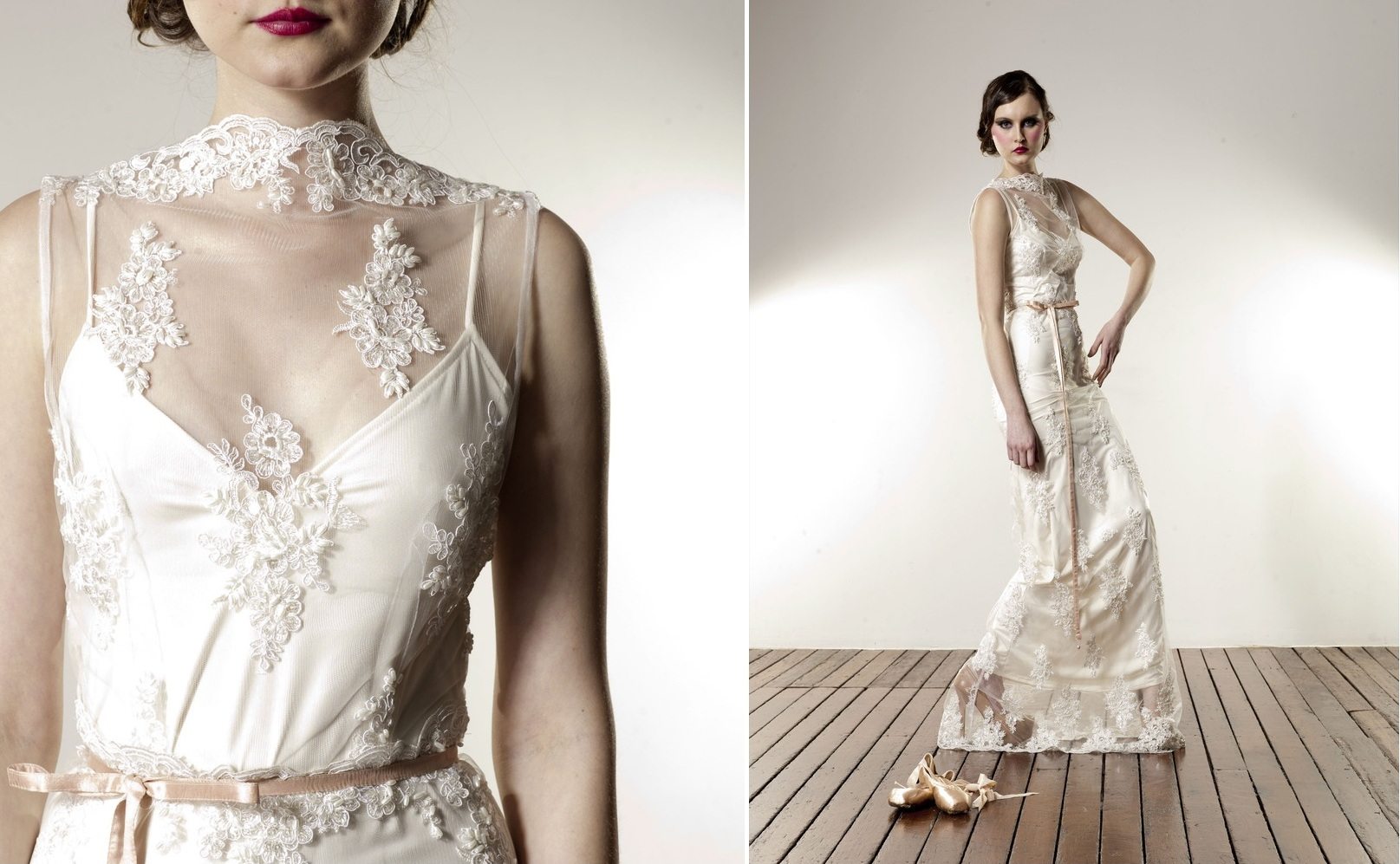 Lace Beaded Gown from Anaessia
