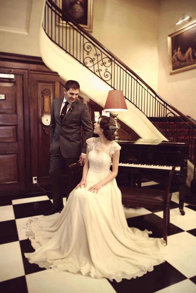 Wellington Vintage Wedding Inspiration Shoot from Sarah McEvoy Photography