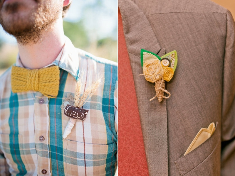 Autumn Alternative Boutonniere