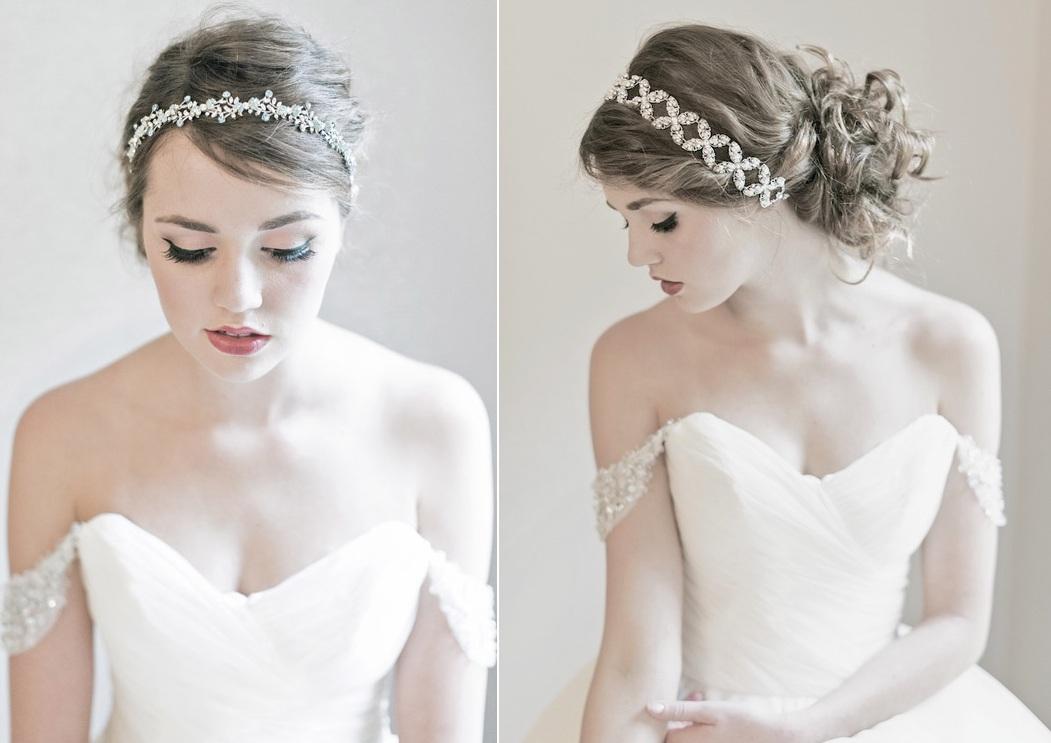 Eva & Rachelle Swarovski Headbands - Enchanted Atelier's Fall Winter 2013 Collection