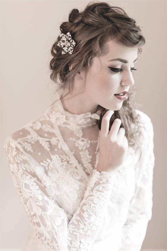 Blair Swarovski Hairpins - Enchanted Atelier Fall WInter 2013 Collection