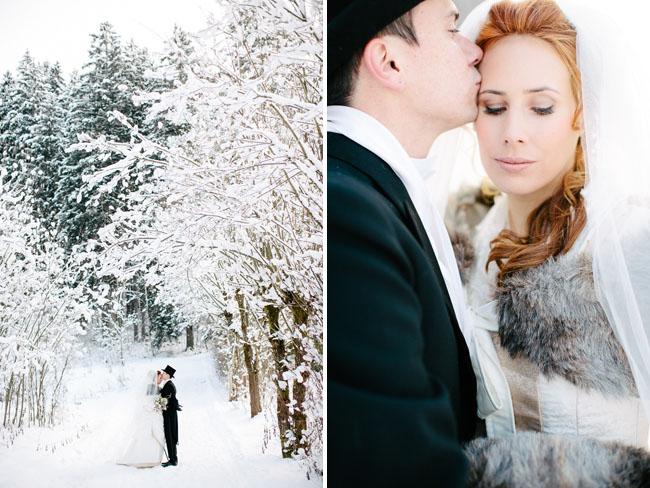 Alice in Winter Wonderland Wedding from Green Wedding Shoes
