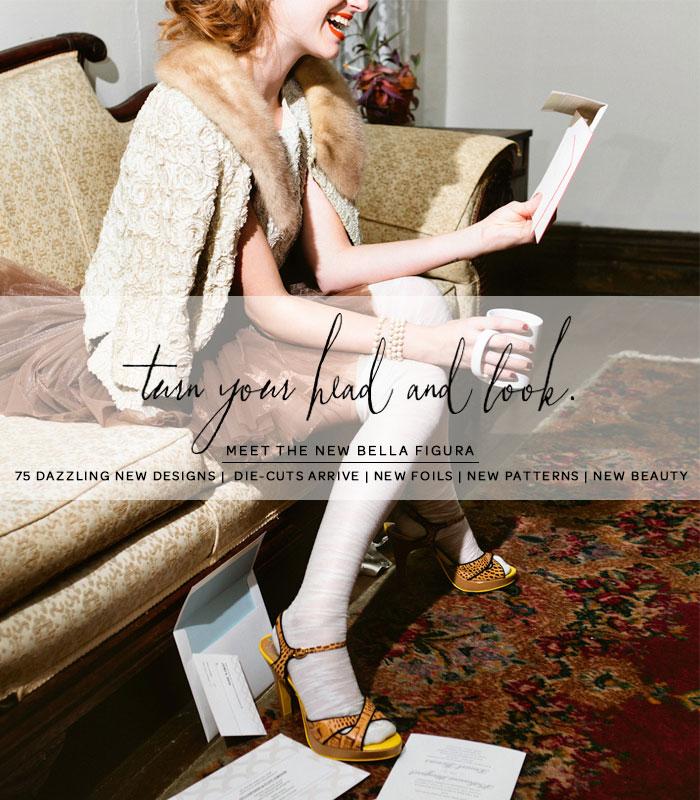 Bella Figura's 2013 Wedding Invitation Collection