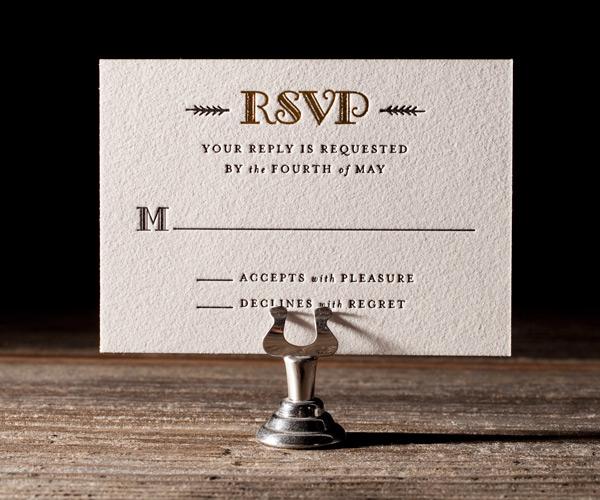 Bella Figura 2013 - Fitzgerald Letterpress Wedding Stationery