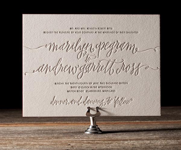 Bella Figura 2013 - Madison Letterpress Wedding Stationery