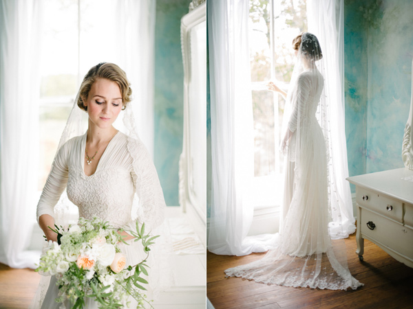 Charlottesville Vintage-Inspired Wedding