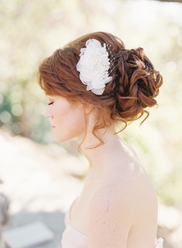SIBO Designs Spring 2013 Collection - Bridal Hair Comb