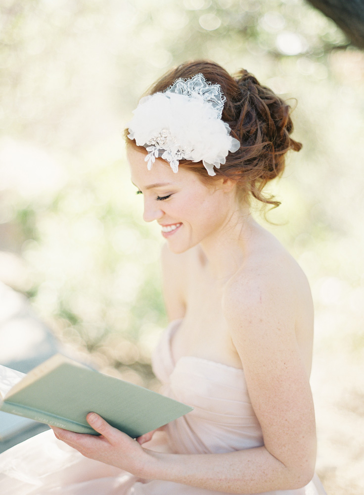SIBO Designs Spring 2013 Collection - Bridal Crown Headband