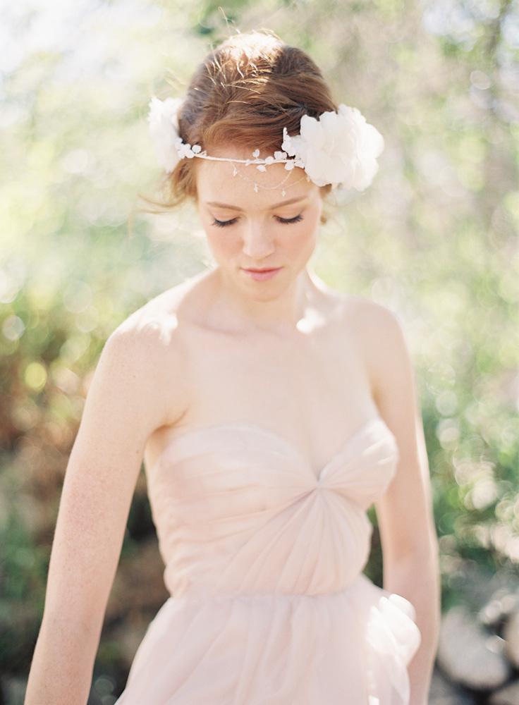 SIBO Designs Spring 2013 Collection - Floral Bridal Crown