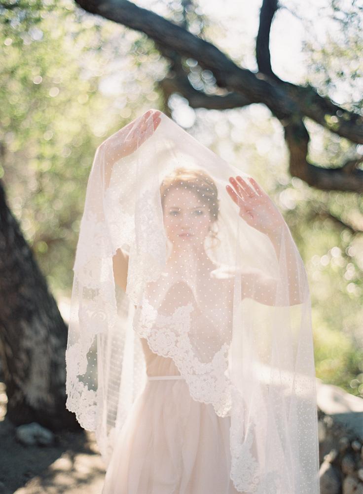 SIBO Designs Spring 2013 Collection - Polka Dot Lace Veil