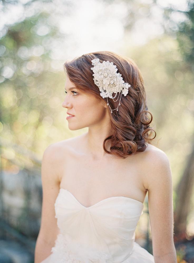 SIBO Designs Spring 2013 Collection - Wedding Headpiece