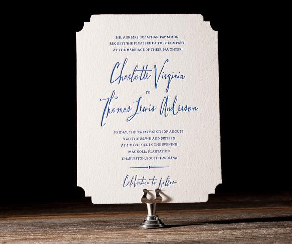 Bella Figura 2013 - Anderson Letterpress Wedding Stationery
