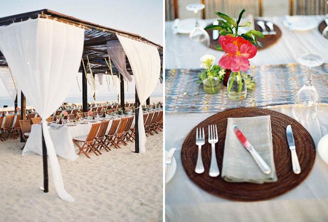Bali Wedding Beach Welcome Dinner