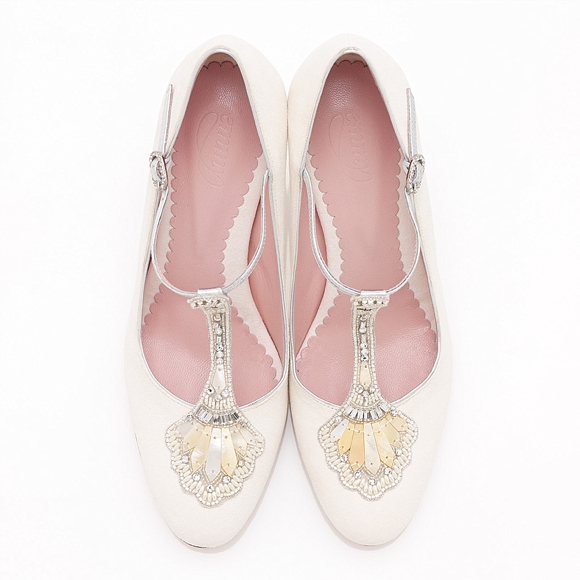 Eva Bridal Shoe from Emmy London