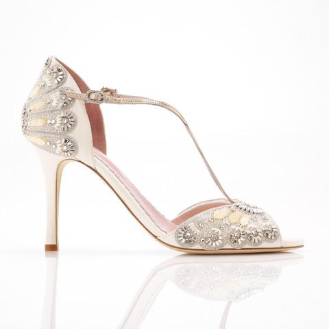 Emmy Bridal Shoes Chic Vintage Brides