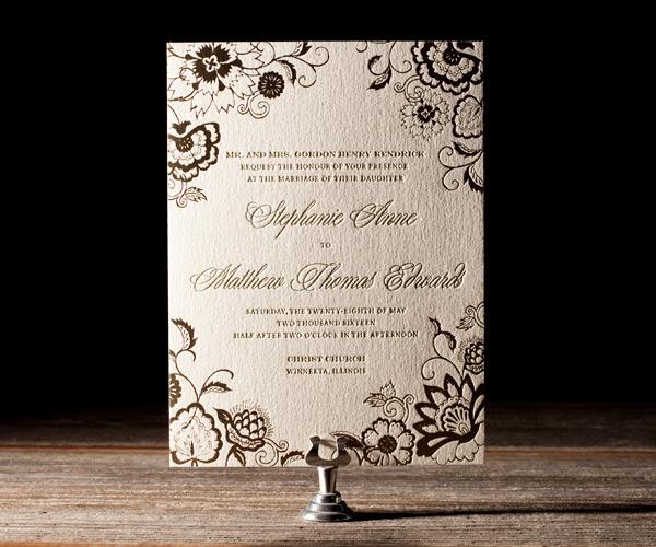Bella Figura 2013 - Coriander Letterpress Wedding Stationery