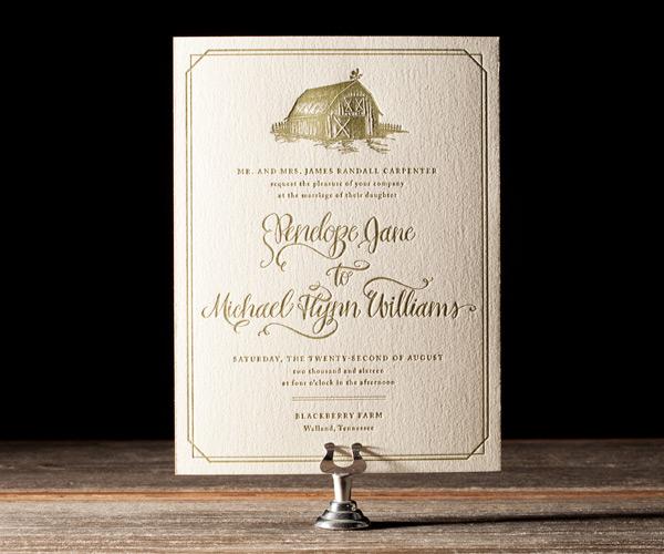 Bella Figura 2013 - Imogene Letterpress Wedding Stationery