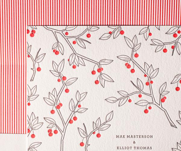 Bella Figura 2013 - Mae Letterpress Wedding Stationery